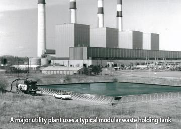 Modular Waste Holding Tanks